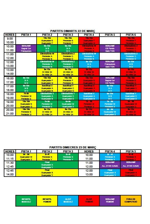 horaris torneig 2